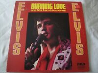 ELVIS PRESLEY BURNING LOVE AND HITS FROM HIS MOVIES VINYL LP ALBUM 1972 RCA VG+