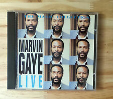 "CD AUDIO MUSIQUE / MARVIN GAYE ""LIVE"" CD ALBUM 1983  ARC RECORDS 12 TRACKS"