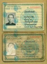 Vietnam War ID Card 1969 Pair #5