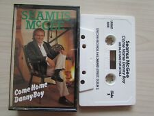 SEAMUS McGEE 'COME HOME DANNY BOY' CASSETTE, 1988 UNICORN, IRELAND, RARE, TESTED