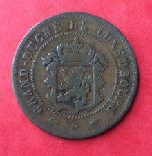 Luxembourg - Jolie monnaie de  5 Centimes 1860 A