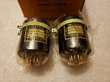 NIB Pair of Ultra Rare Thermador TG-22 Push Pull Output Transformer 45 300B 2A3