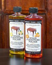 E.J. Wheaton Co. Furniture Polish Combo Pack, 1 Lemon + 1 Orange Oil