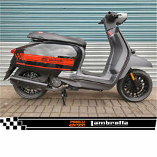 LAMBRETTA V 125 PIRELLI SPECIAL RED SIDE STRIPES DECALS GRAPHICS