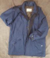 Genuine Mens Blue Baracuta Warm Padded Jacket Size Medium