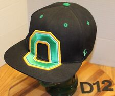 ZEPHYR UNIVERSITY OF OREGON DUCKS SNAPBACK HAT BLACK VERY GOOD CONDITION D12