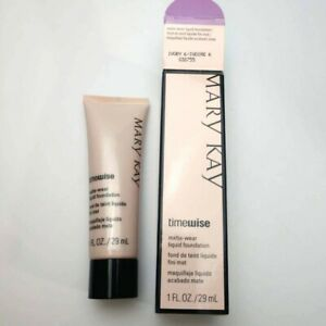 Mary Kay Timewise Matte-Wear 1oz Liquid Foundation 038755 Ivory 6  New in Box