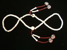 Very Rare Snow Crystal Japa Style  6mm Mala COMBINED SHIPPING AVAILABLE