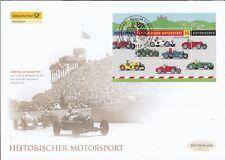 BRD 2009 Deutsche Post FDC MiNr. Block 75  Historischer Motorsport