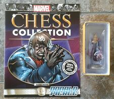 Marvel Chess Collection #60 Donald Pierce Black pawn resin figure & magazine