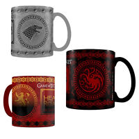 Game of Thrones Heat Changing Mug Tea Coffee Pyramid Official New UK