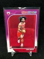 COBY WHITE 2019 20 Panini NBA Hoops PURPLE PARALLEL ROOKIE #204 CHICAGO A09