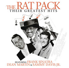 CD The Rat Pack Their Greatest Hits 2CDs Frank Sinatra, Dean Martin, Sammy Davis