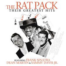 CD The Rat Pack Their Greatest Hits 2CDs Frank Sinatra, Dean Martin, Sammy Davis