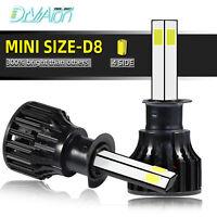2X H1 LED Phare de Voiture Ampoule Headlight 6000K 200W 30000LM Xénon Blanc Beam