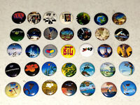 35 Buttons 1 Inch Pin - YES full Album Covers Studio, Live & More Fragile Close