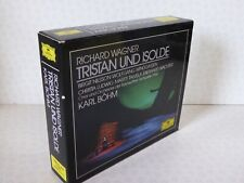 Wagner Tristan Und Isolde Karl Bohm 419 889-2 3 x West Germany France PDO Discs