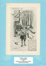 Genuine Antique Print c1895 Upon Rooke by Cecil Aldin