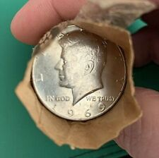 1 Roll (20) 40% Silver Kennedy Half Dollar Coins 1965-1969 - $10 Face Value