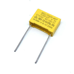 10PCS X2 Safety Capacitor 473K 275V 0.047UF Pitch 15MM