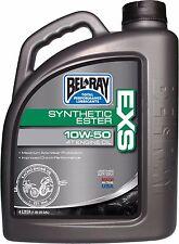 Garrafa 4L Aceite Sintetico Bel-Ray Motor 4T EXS Full Synthetic Ester 10W-50
