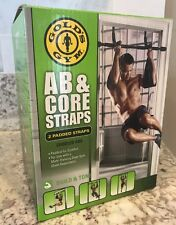 *New in Box* Gold's Gym Ab & Core Straps - 2 Padded Straps