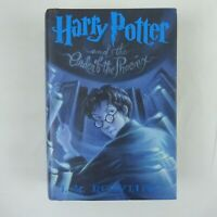 Harry Potter and the Order of the Phoenix by J.K. Rowling 1st Edition HCDJ