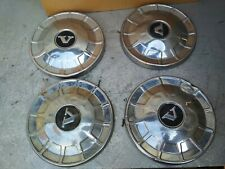 VOLVO 142 1.8 1969 Chrome Metal Wheel Center Cap Hub Cover Set 4