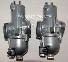 Norton Commando Amal 932 Carburettor pair premier 2 Vergaser 750 850 Roadster