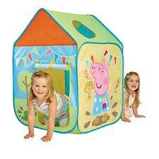 Peppa Pig Wendy Tente Jeu Maison Nouvelle Enfants Intérieur & Extérieur Active