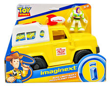 Toy Story Buzz Lightyear & Pizza Planet Truck And Pizza Launcher Imaginext NEW