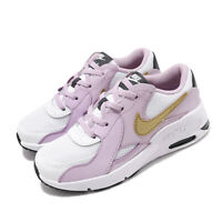 Nike Air Max Excee PS White Gold Iced Lilac Kid Preschool Shoes CD6892-102