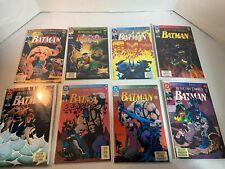 8 DETECTIVE BATMAN Knightfall DC 1993 comic books