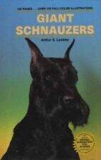 Giant Schnauzers (Kw Dog Breed Series) Lockley, Arthur S. Hardcover Book LikeNew