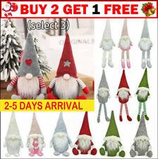 Sparkly Santa Gnomes Gonks Christmas Decorations B0