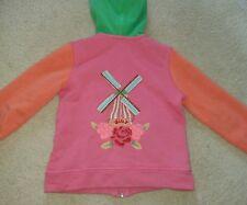 oilily zip jacket age 4 years. girls designer clothing