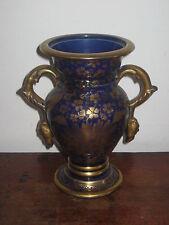 Mason'S marazine Blu Twin gestiti vaso decorazione dorata
