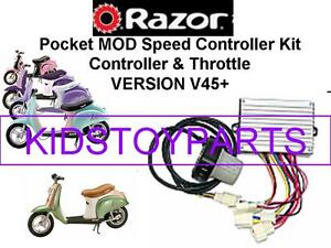 NEW! NOS Razor POCKET MOD V45+ ESC Kit (ELECTRONIC SPEED CONTROLLER + THROTTLE)