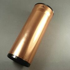 New Fine Huge Rose Gold Color COHIBA Metal Travel Cigar Tube Jar humidity HB33G