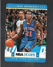 2012/13 panini NBA HOOPS Taco Bel IMAN SHUMPERT #13 KNICKS / GEORGIA TECH