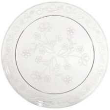 "D'Vine Clear Plastic 10"" Scroll  Dinner Plates 100ct. Disposable Heavy Duty"