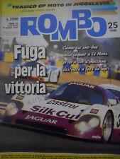 ROMBO 25 1990 Rally Acropoli Carlos Sainz domina - Moto Gp Jugoslavia coma Roth