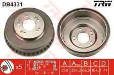 DB4331 TRW Brake Drum Rear Axle