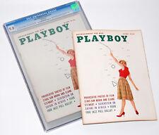 Playboy October 1959 (CGC VF/NM 9.0) Playmate Elaine Reynolds + (Free Issue) Lot