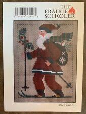 Santa 2010 The Prairie Schooler Counted Cross Stitch Chart Pamela Byrd Smith
