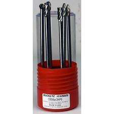 Carbide Burr (CBS6pc3NF6) 6pc Carbide Burr Set - SA-3NF-6, SC-3NF-6, SD-3NF-6, S