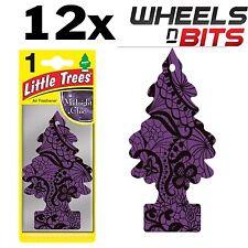 12 Confezione X Nero Chic Profumo Magic Tree Piccolo Alberi Auto Casa Deodorante