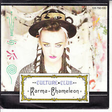 "CULTURE CLUB  Karma Chameleon PICTURE SLEEVE 7"" 45 record NEW + jukebox strip"