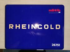 """Märklin 26751 Schnellzug """"75 Jahre Rheingold"""" BR 18.4 DRG, 6 teilig, Dig Neu Top"""