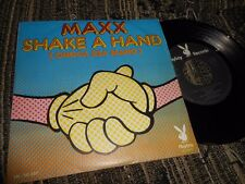 "MAXX SHAKE A HAND/A MILLION FLIES CAN'T BE WRONG 7"" 1974 SPAIN PLAYBOY RECORDS"